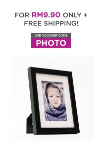 Fotable Black - Table Top Photo Frame