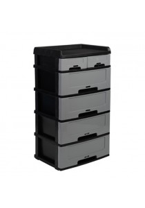 Felton Plastic 6 Drawer Storage