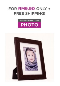 Fotable-x Brown - Table Top Photo Frame