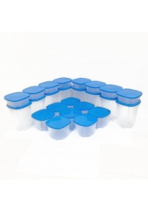 ASOTV Food Storage Containers Set of 24 - Spin N Store