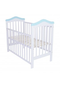 Royalcot R490 Baby Cot White Blue