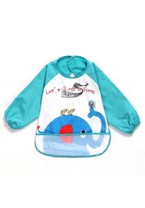 Waterproof Anti-dressed Baby Bibs - 81103 (Elephant)