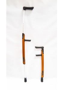 Wheelchair X-Crutch