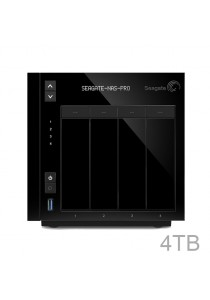 Seagate 4TB NAS Pro, 4-bay (comes with 2 x 2TB drive) - STDE4000300