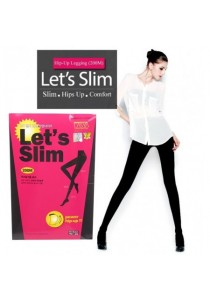 Let's Slim 200M Power High Up Tights High Stocking
