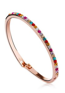 OUXI Diamond Sugar Bangle