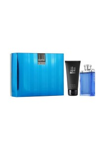 [Pre Order] Desire Blue By Alfred Dunhill Gift Set - EDT 100ml + 150ml After Shave Balm For Men