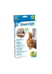 Catit Design SmartSift Replacement Liners - 12 Packs For Cat Pan Base
