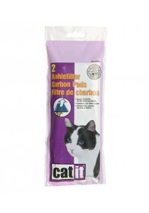 Catit Hooded Cat Pan Replacement Carbon Pads - 2 Packs
