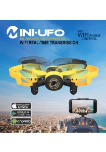 JXD 512W WIFI FPV 0.3MP Camera Explorer 2.4G 4CH 6-Axis Mini RC Quadcopter
