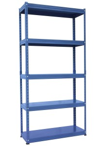 nesthouz.com Kelsey Display Rack Blue Colour