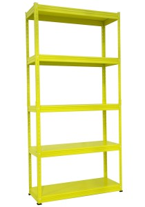 nesthouz.com Kelsey Display Rack Yellow Colour