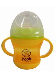 5oz Non Spill Spout Drinking Cup (Orange)