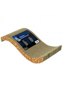 Catit Style Patterned Cat Scratcher with Catnip - Animal - S-shape