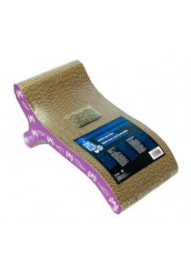 Catit Style Patterned Cat Scratcher with Catnip - Butterfly - Chaise