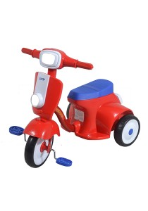 Sweet Heart Paris TC5309 Children Tricycle (Blue/Red)