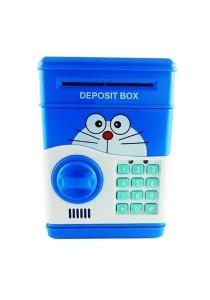 Doraemon Piggy Bank with Security Password