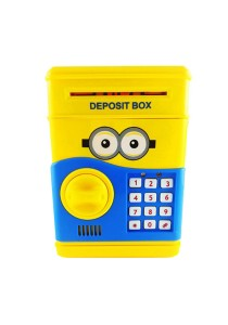 Minions Piggy Bank with Security Password