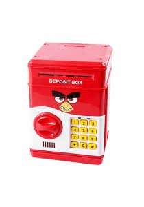 Angry Birds Piggy Bank with Security Password