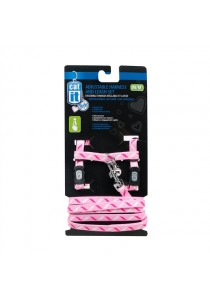 Catit Style Adjustable Cat Harness & Leash Set - Ribbon - Small