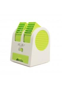 Portable USB Bladeless Desktop Air Conditioner - Green