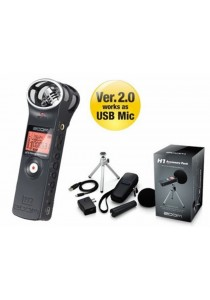 Zoom H1 Handy Recorder Black + Accessory Pack Zoom H1 (APH1) - Combo 1: Black