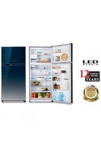 TOSHIBA GR-HG55MDZ 550L INVERTER HYBRID BIO Twin Door Refrigerator (GG)