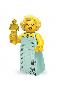 LEGO MINIFIGURE Series 9-3 Hollywood Starlet
