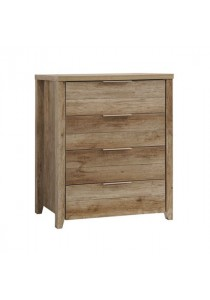 Dove Chest of Drawers (4 Drawers) - Teak