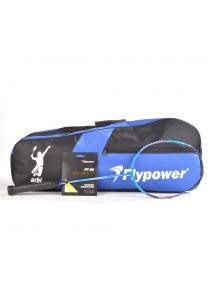 Flypower Badminton Racket All Star 900 FOC String FP66JS Blast & Double Zip Bag Bonus