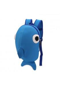 Fashion New Children Backpacks Girl Boy Cartoon Whale Mochila School Bags For Kid KK010X