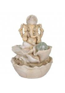 Ganesha Feng Shui Water Fountain 1630A