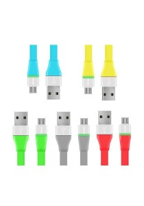 PROLiNK PUC100 Micro USB Charging Data Cable With LED For Android Phone 1M (5 Pieces)