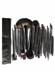 Cerro Qreen Professional Make-Up Brush Set - Black (18 Pcs)