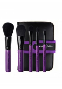 Cerro Qreen Professional Make-Up Brush Set-Purple (5 Pcs)
