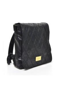 Limkokwing Fashion Club Embossed Crocodile Backpack