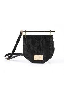 Limkokwing Fashion Club Snakeskin Golden Holder Bag