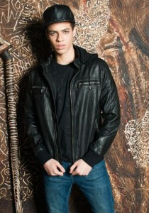 Limkokwing Fashion Club Mens Leather Jacket