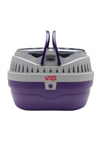 Living World Carrier for Small Pets - Small