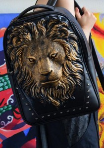 Limkokwing Fashion Club Lion Bag