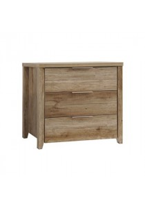 Dove Chest of Drawers (3 Drawers) - Teak