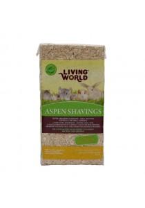 Living World Aspen Shavings - 20 L