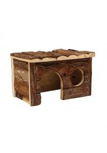 Living World Tree House Real Wood Cabin - Medium