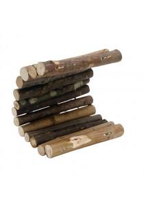 Living World Tree House Real Wood Logs - Medium