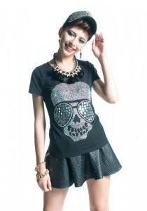 Limkokwing Fashion Club Skull Disco T-shirt