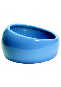 Living World Ergonomic Dish - Small - 120 mL - Blue/Ceramic
