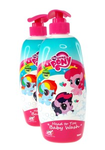 Twin Pack Head to Toe Baby Wash 750ml (Honey Strawberry Cow Milk)