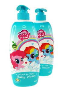 Twin Pack Head to Toe Baby Wash 750ml (Honey Soya Bean)