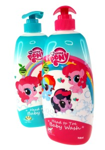 Twin Pack Head to Toe Baby Wash 750ml (Honey Soya Bean + Honey Strawberry Cow Milk)