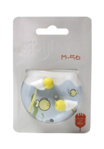 Sibyl Earphone with Mic M56 (Yellow)
